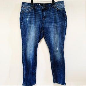 KUT From the Kloth Catherine Boyfriend Jeans 16w